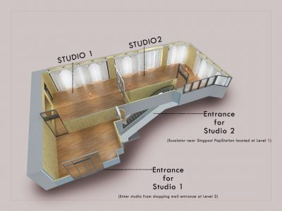 Entrance for Studios DWF