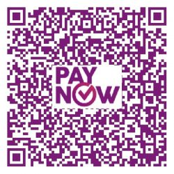 Please scan the code or enter UEN no. 200815143E using PayNow.